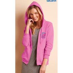 Ladies Full Zip Hood Sweat 10