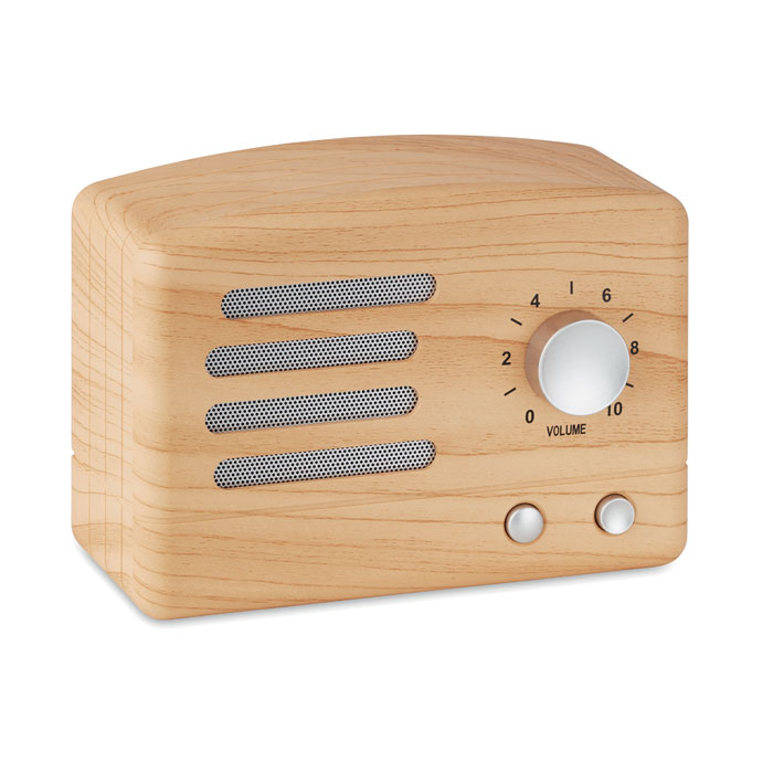 Wooden look Bluetooth Speaker Jackson 9