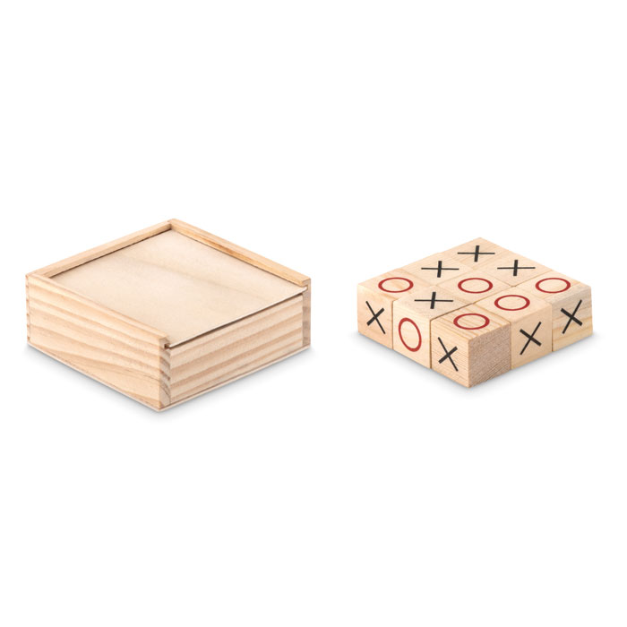 Wooden tic tac toe 3