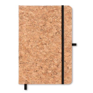 A5 notebook with cork cover 18