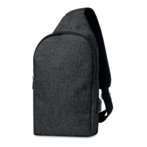 600D 2 tone polyester chest bag 12
