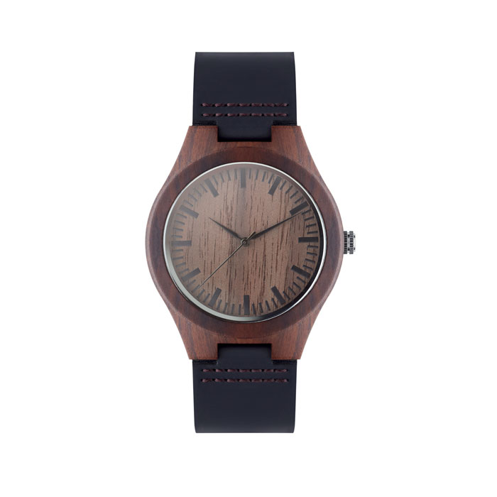 Leather watch 45